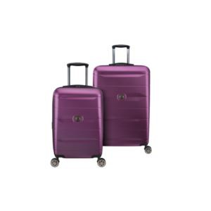 Comete 2.0 Plum Nested Luggage Set of 2