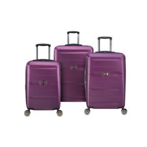 Comete 2.0 Plum Nested Luggage Set of 3
