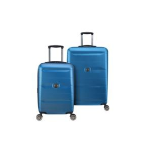 Comete 2.0 Steel Blue Nested Luggage Set of 2